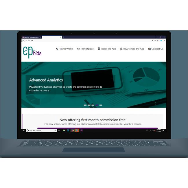 CellPoint Bids Website
