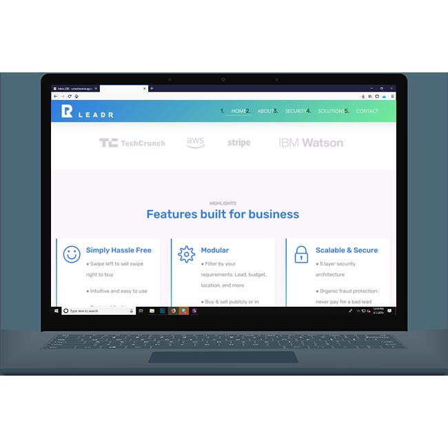 BeLeadr Website