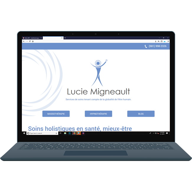 lucie Migneault  Website