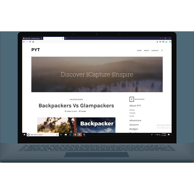 PYT Website
